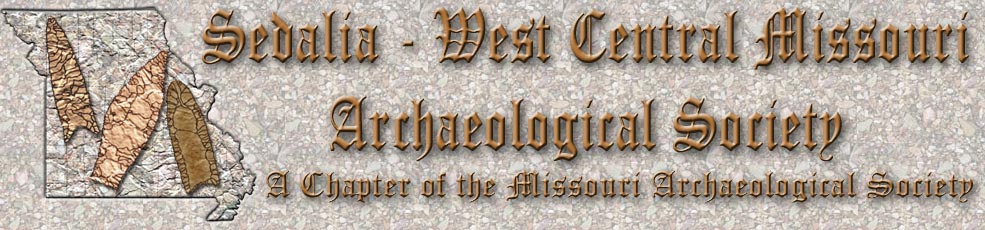 Sedalia - West Central Missouri Archaeological Society